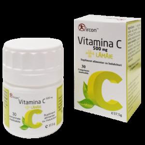 Vitamina C 500mg - 30 comprimate masticabile